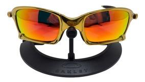 8ad150257 Oakley Juliet Dourado Original De Sol - Óculos com o Melhores Preços ...