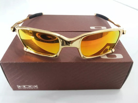 54ef5dd22 Oculos Oakley Squared Juliet Double X 24k Dourada Gold Lupa. R$ 120