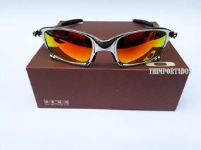 34751e0b2 Oculos De Sol Lente Pequena Masculino Oakley Juliet - Óculos no ...