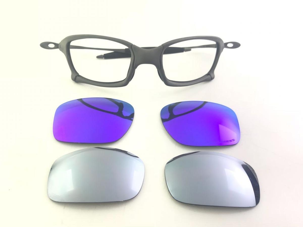 Óculos Oakley Squared X-metal Com Lente Polarizada - R  1.200,00 em ... e3334b8cec
