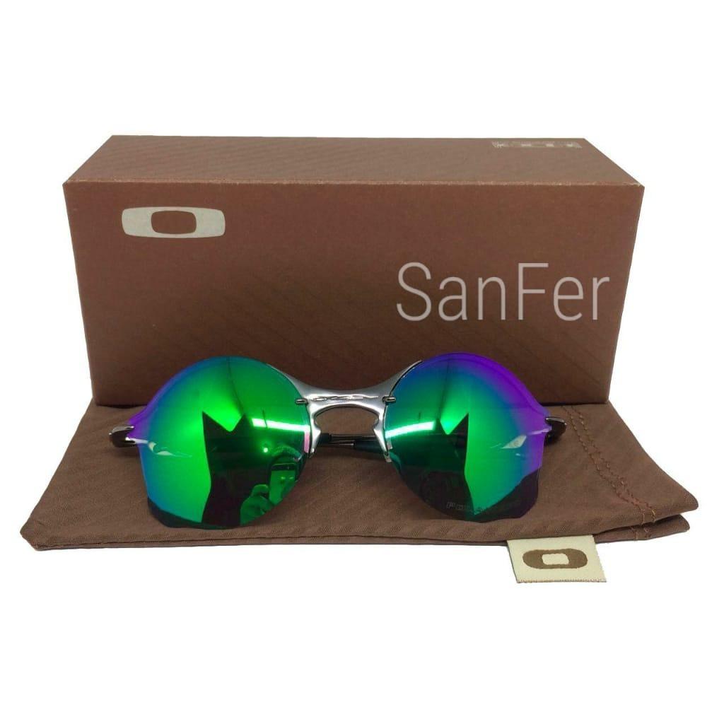 oculos oakley tailend armacao preta lente vermelha, verde. Carregando zoom. e4770beace