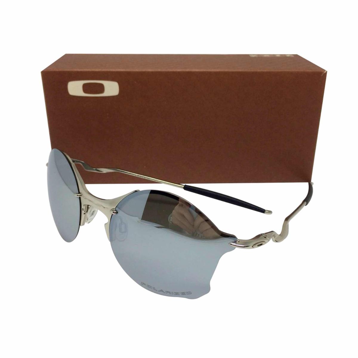 oculos oakley tailend armação prata lente polarizada prata. Carregando zoom. 6723ea7af2