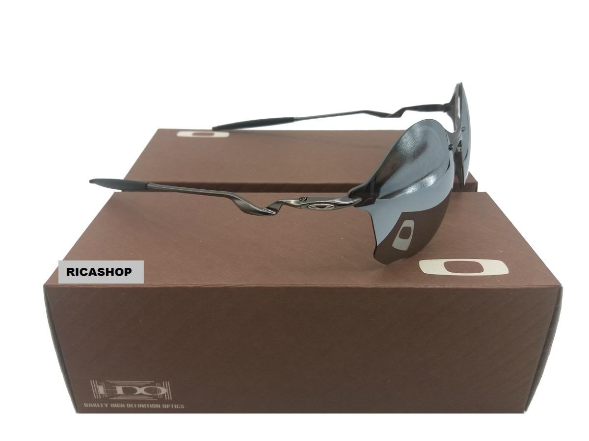718112ba8c764 óculos oakley tailend cinza + certificado + cartão teste. Carregando zoom.