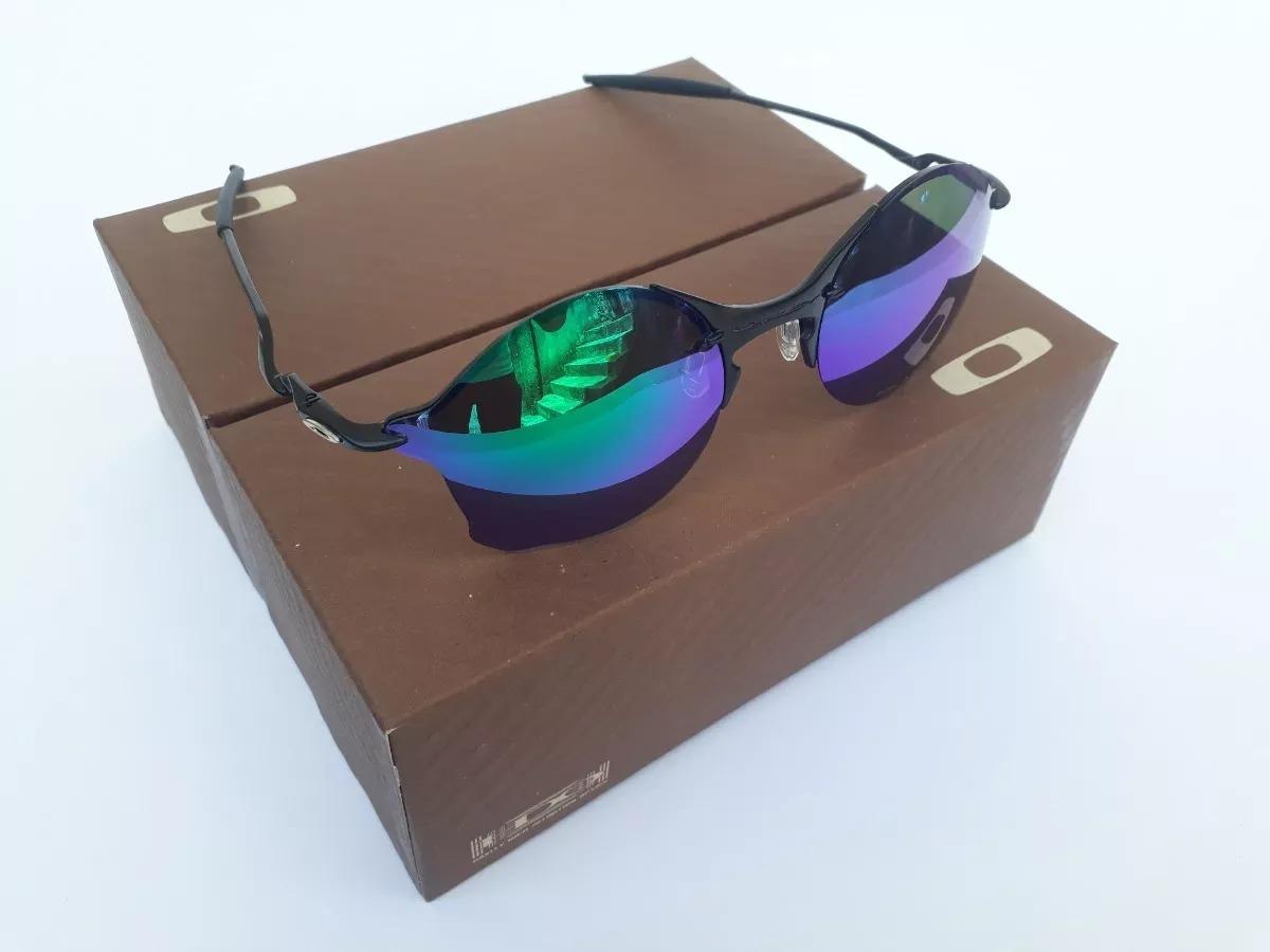 9ed487a6b3908 óculos oakley tailend lentes verde + certificado. Carregando zoom.