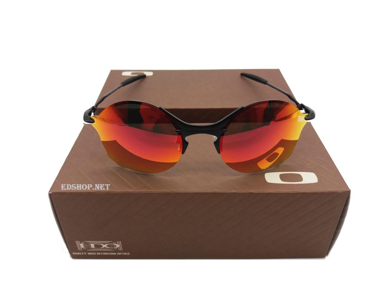 2684a189872f1 óculos oakley tailend ruby + certificado + cartão teste. Carregando zoom.