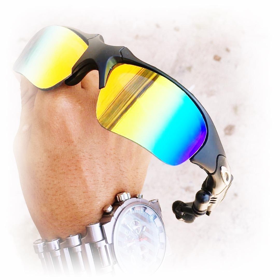 80536642b óculos oakley thump bluetooth lentes arco iris + 2 lentes. Carregando zoom.