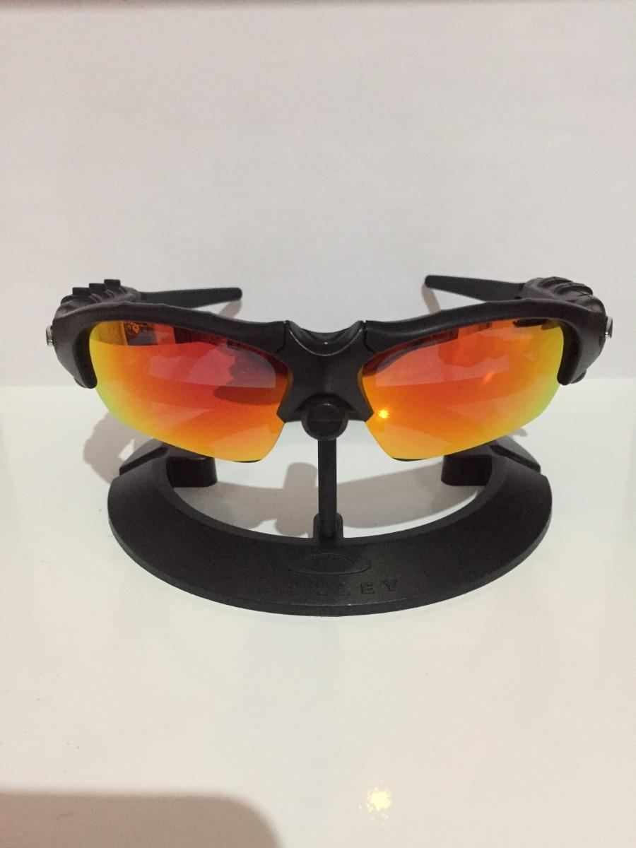 36b7f3645 óculos oakley thump c/fone e bluethooth + 2 pares de lentes. Carregando  zoom.