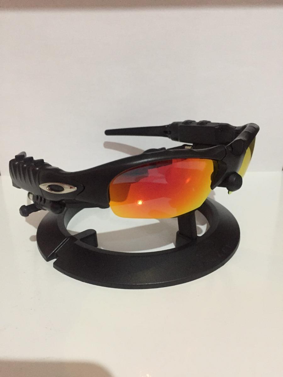 38c727fe2 óculos oakley thump c/fone e bluethooth + 2 pares de lentes. Carregando  zoom.