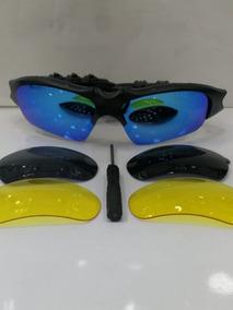 55cb87451 Oculos Oakley Com Fone Bluetooth De Sol - Óculos no Mercado Livre Brasil