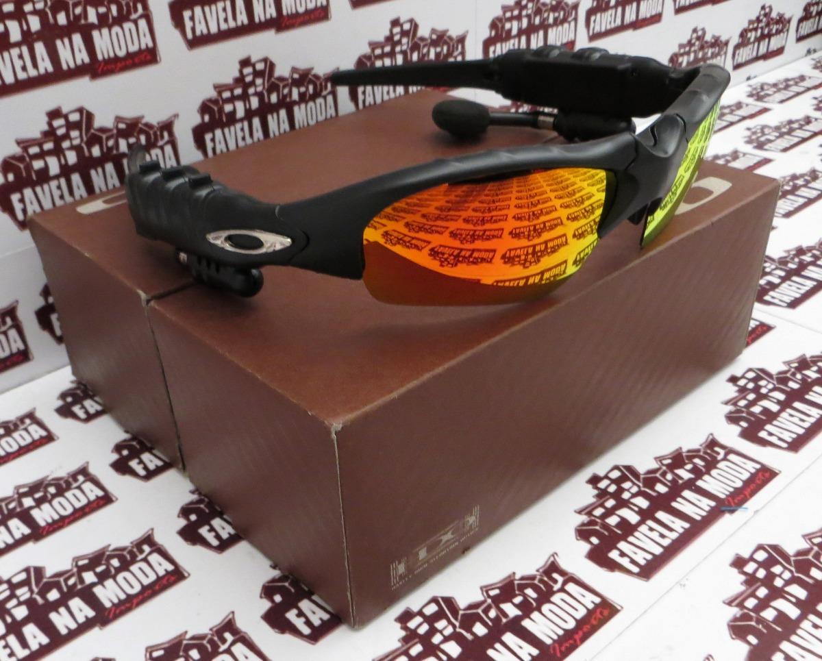 f93f5d139d6cf Óculos Oakley Thump (fone Bluetooth) + 2 Pares De Lentes+... - R ...