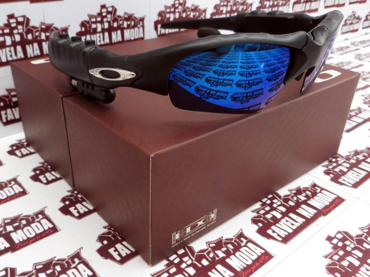 óculos oakley thump (fone bluetooth) + 2 pares de lentes+... Carregando  zoom. 6b0e756def