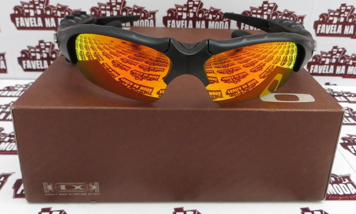 6175e13296485 Óculos Oakley Thump (fone Bluetooth) Dark Ruby + 2 Pares - R  219