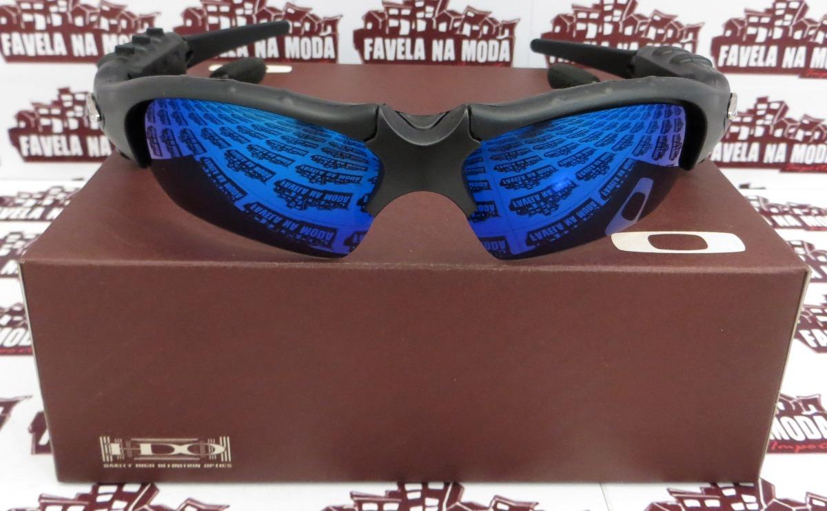 56f96939b9a5d Óculos Oakley Thump (fone Bluetooth) Magic Blue + 2 Pares - R  219 ...