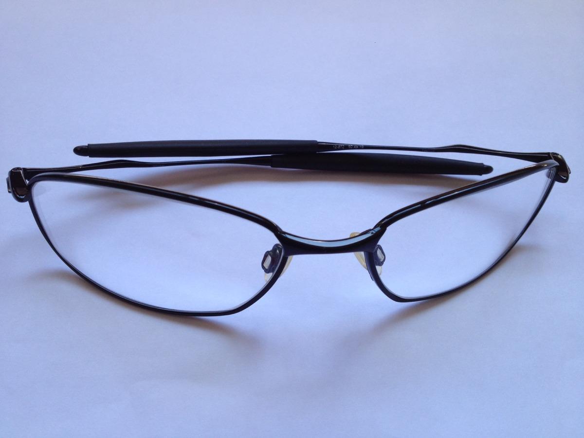 61781bc470226 Óculos Oakley Titanium 12-872 ( Lente Incolor   + Brinde ) - R  499 ...
