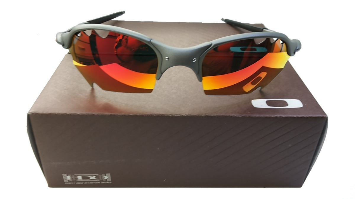 2accc541d Oculos Oakley Top Promoção 12x Cinza Fire Cx + Saquinho Top - R$ 120 ...