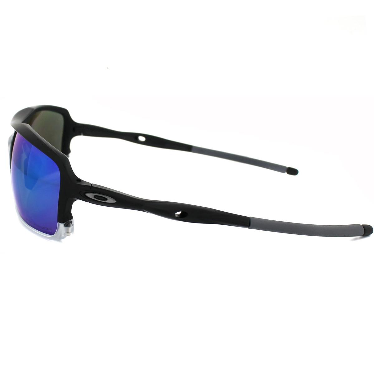 ab86312c4 Óculos Oakley Triggerman Matte Black C/ Sapphire Iridium Pol - R$ 599,90 em  Mercado Livre