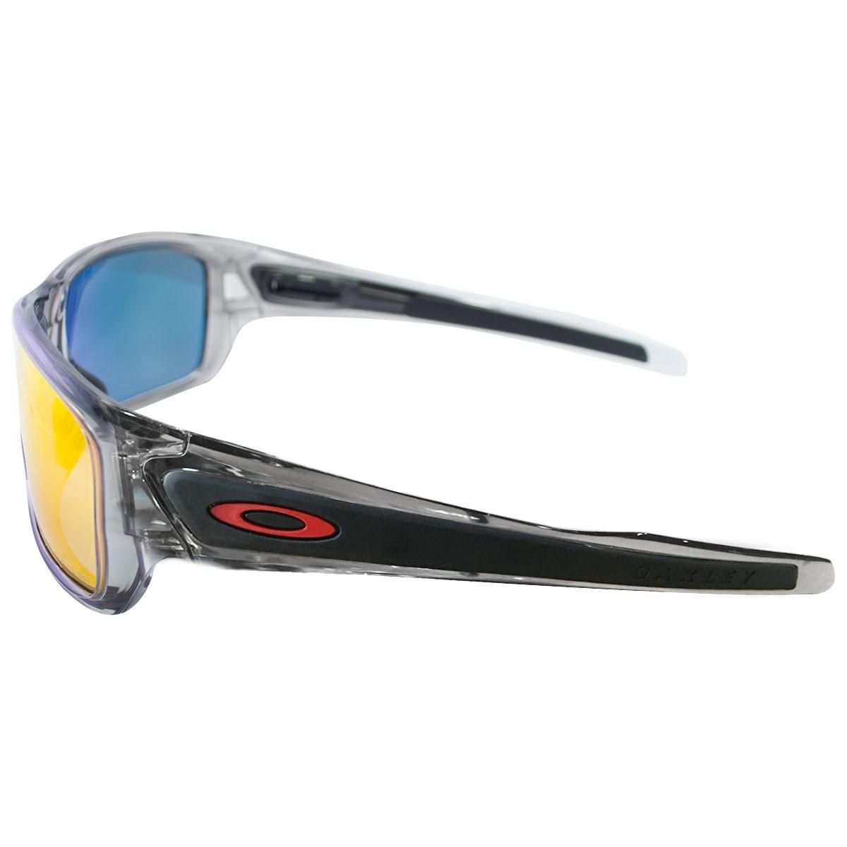 2d321b62a óculos oakley turbine grey ink w/ruby iridium polarizado. Carregando zoom.