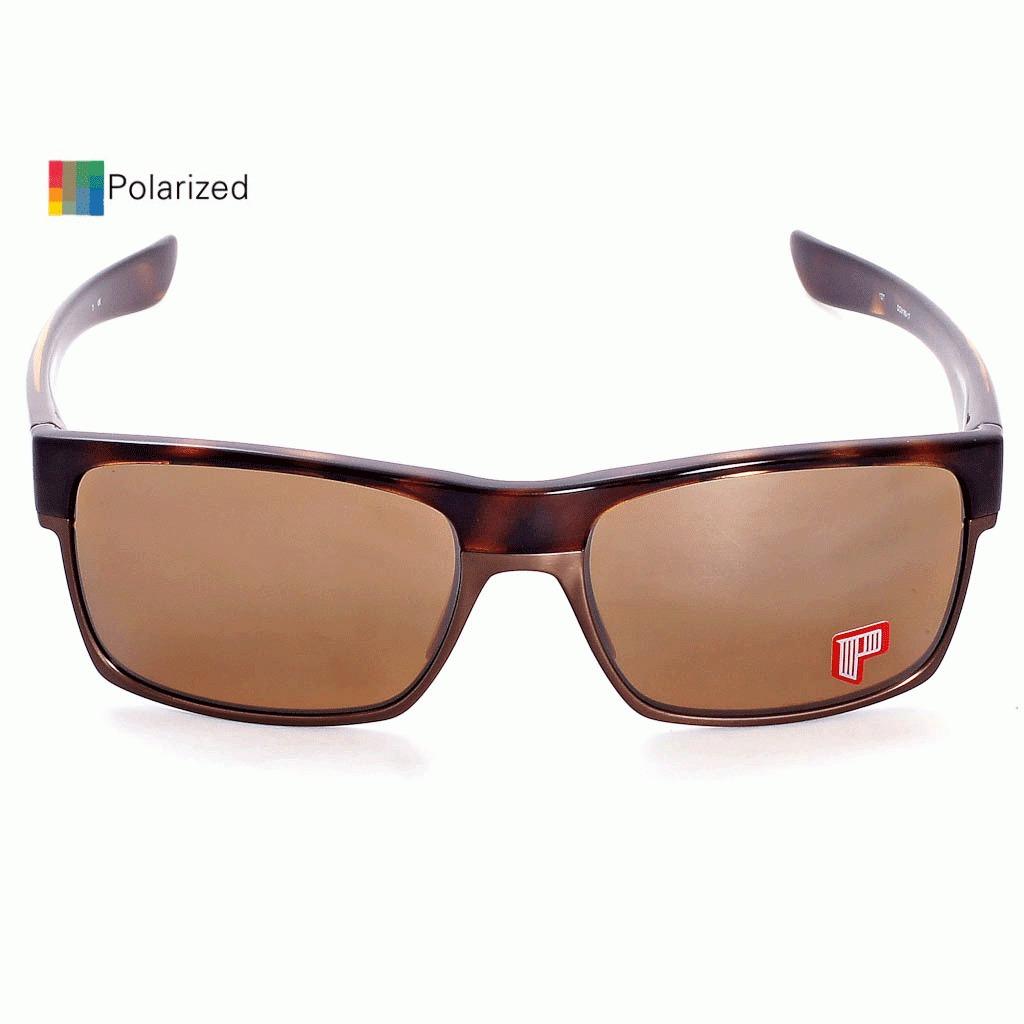 óculos oakley two face tortoise tungsten iridium polarizada. Carregando  zoom. b8f398bd13