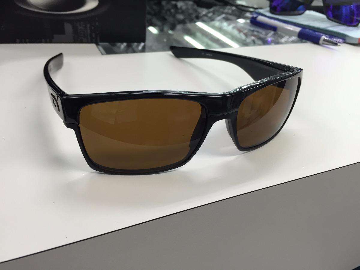 39eaf7976d43b oculos oakley twoface oo9189-03 polished balck w  dark bronz. Carregando  zoom.