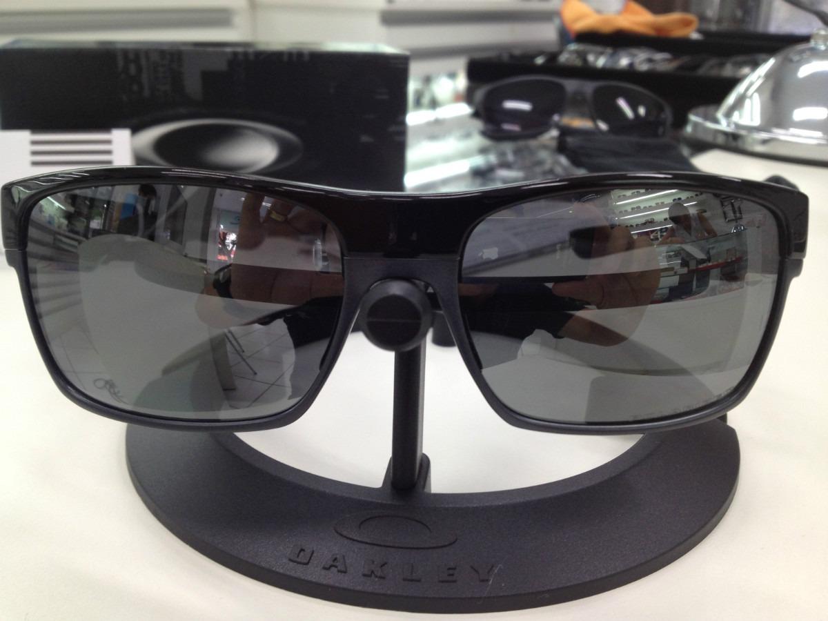 678ae6bd878e7 oculos oakley twoface polarizado 009189-01 pol black w blk. Carregando zoom.