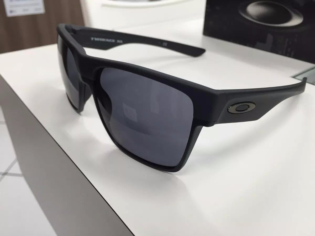 91449562d5f0b oculos oakley twoface xl 009350-03 steel w  grey original. Carregando zoom.