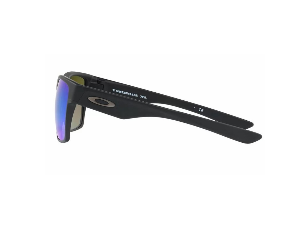 7f2500eaa55df oculos oakley twoface xl oo9350-05 matte black sapphire pol. Carregando  zoom.