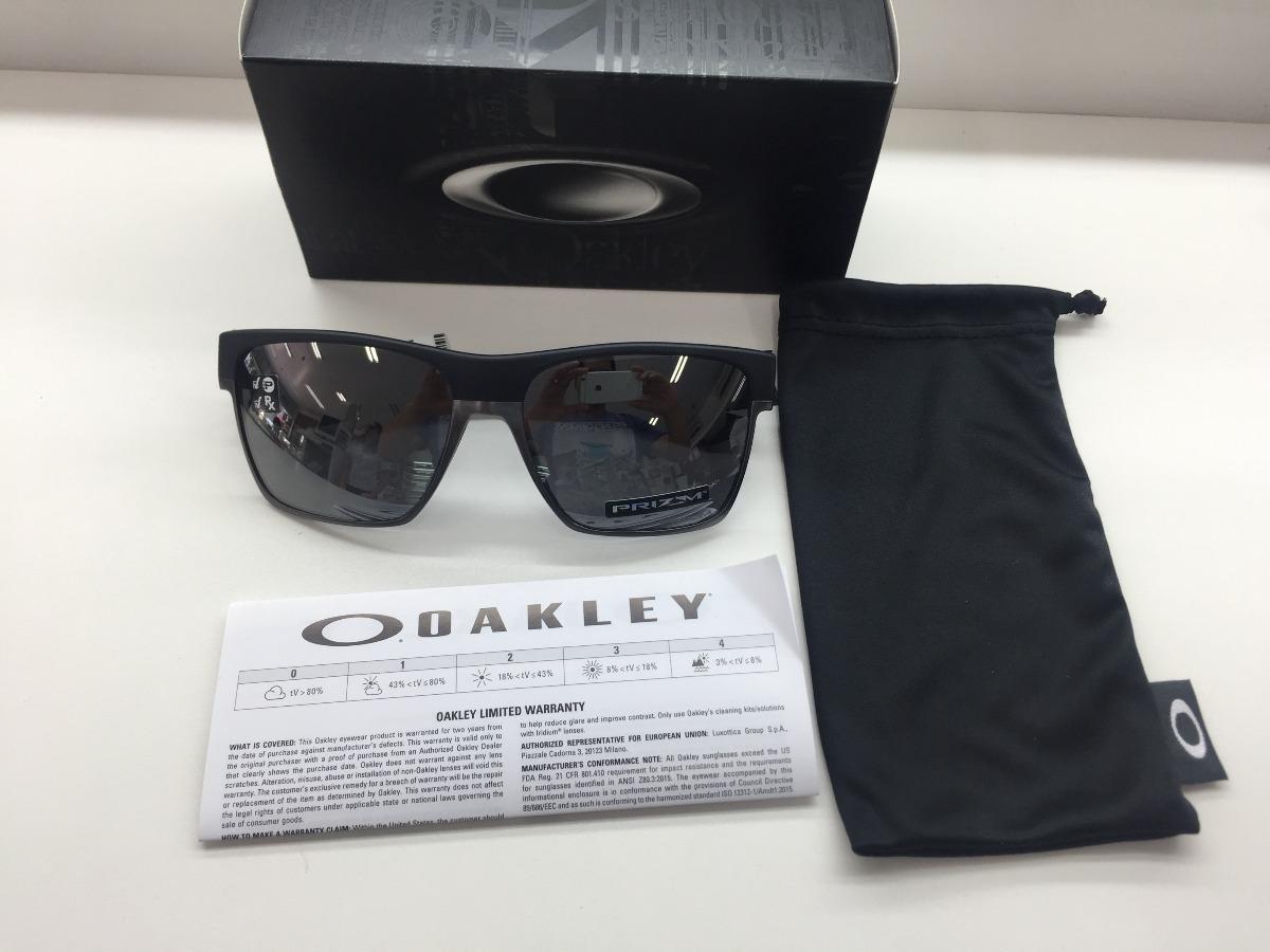 73d7080fe1b2b oculos oakley twoface xl oo9350 10 prizm black polarizado. Carregando zoom.