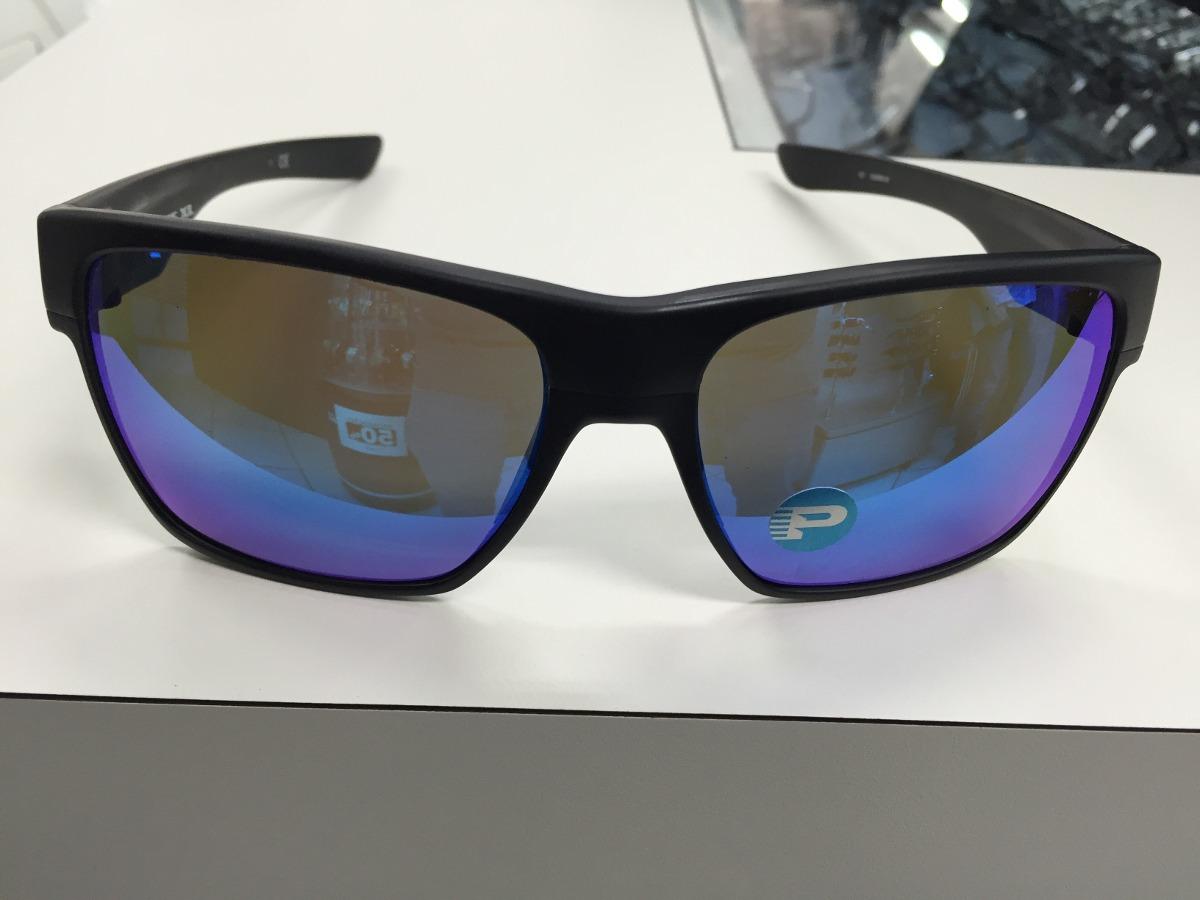 6ca8cf8e3d062 oculos oakley twoface xl polarizado oo9350 05 black w  sapph. Carregando  zoom.