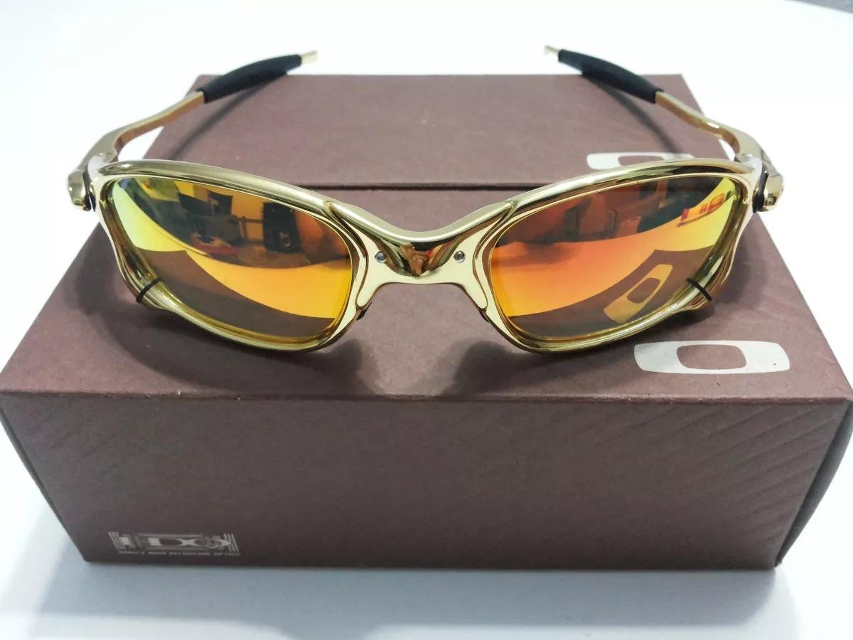 6f446d5f940d8 oculos oakley x metal juliet 24k double x dourada gold. Carregando zoom.