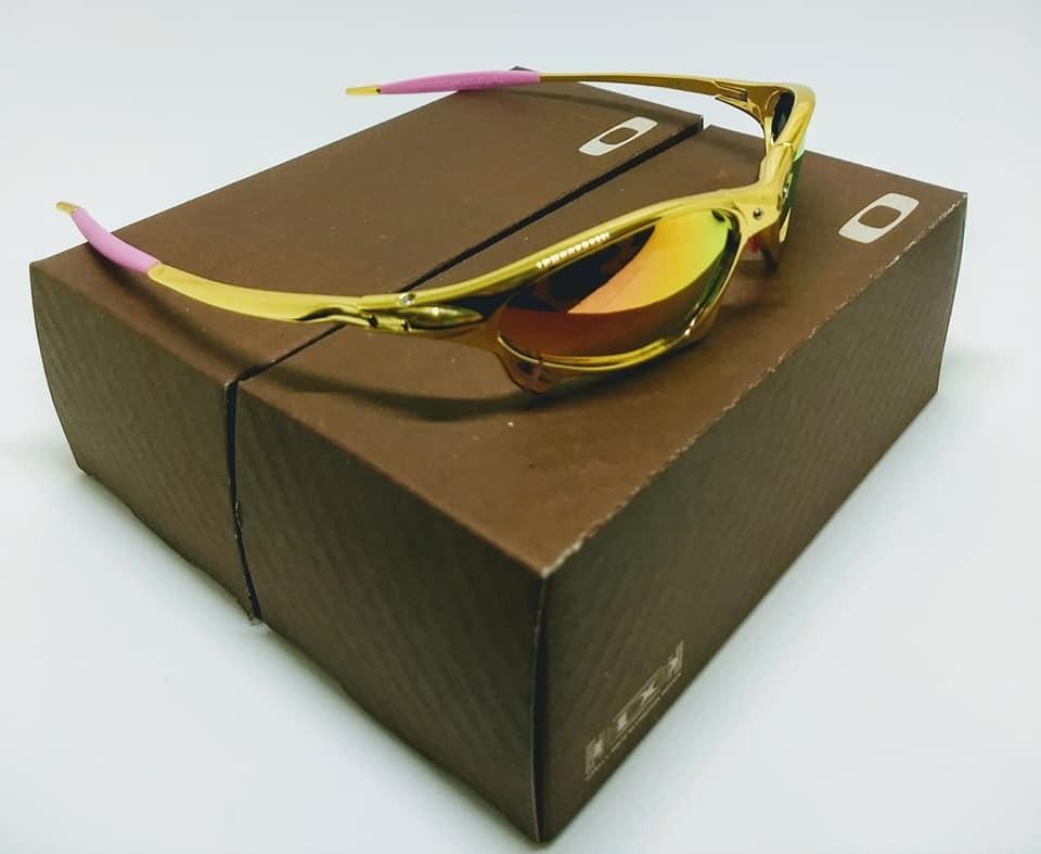 Óculos Oakley X-metal Penny Gold 24k - R  164,93 em Mercado Livre 966fd196dd