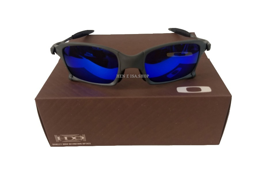 0b94ce44192b7 Oculos Oakley X-squared X-metal Azul +certificado+frete 12x - R  120 ...