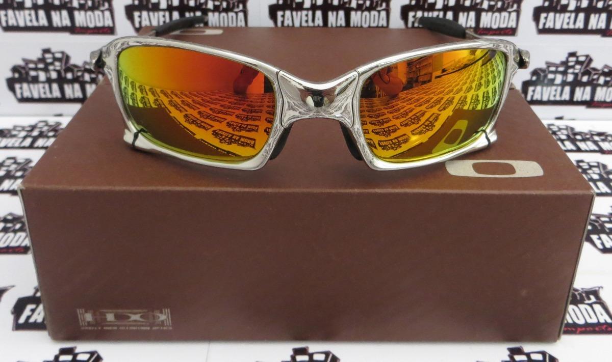 óculos oakley xsquared   polished  dark ruby + par de lentes. Carregando  zoom. 6bccb624af