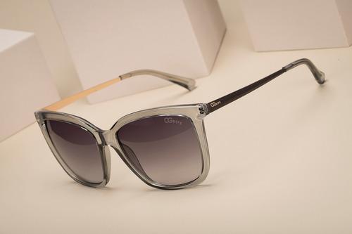 oculos ogrife solar feminino og 1141-c proteção uv original