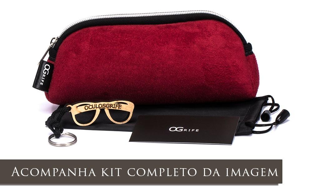 e7b98d50d Oculos Ogrife Solar Feminino Og 1143-d Proteção Uv Original - R$ 90,00 em  Mercado Livre