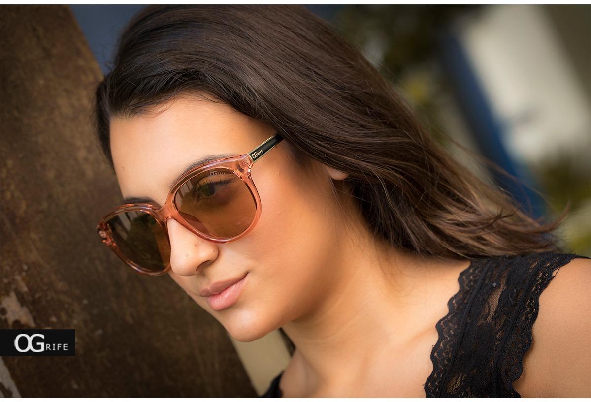 da6905ce9 Oculos Ogrife Solar Feminino Og 1143-d Proteção Uv Original - R$ 90 ...
