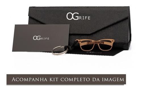 oculos ogrife solar feminino og 1150-c proteção uv original