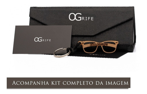 oculos ogrife solar feminino og 1168-c proteção uv original