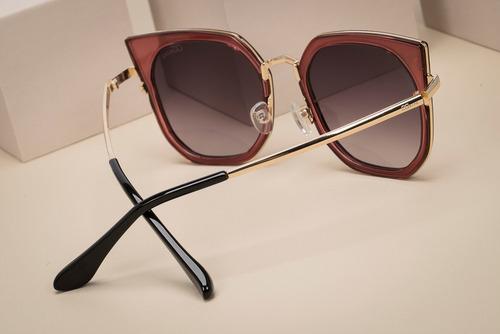 oculos ogrife solar feminino og 1333-c proteção uv original