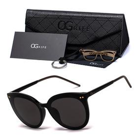 fd9b46f94 Oculos Ogrife Solar Feminino Og 1380-c Proteção Uv Original. 2 cores. R$ 90
