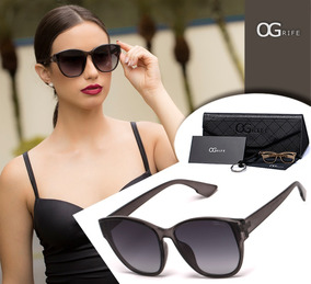 8d05523dc Oculos De Sol De Grife Feminino - Óculos De Sol no Mercado Livre Brasil