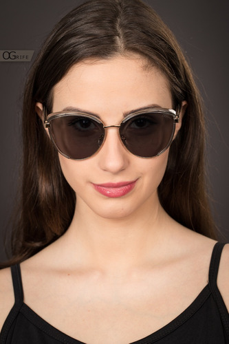 oculos ogrife solar feminino og 1577-c proteção uv original