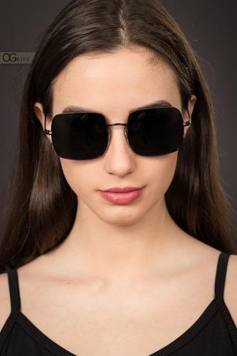 oculos ogrife solar feminino og 1619-c proteção uv original