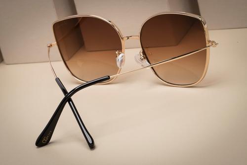 oculos ogrife solar feminino og 1635-c tamanho g original