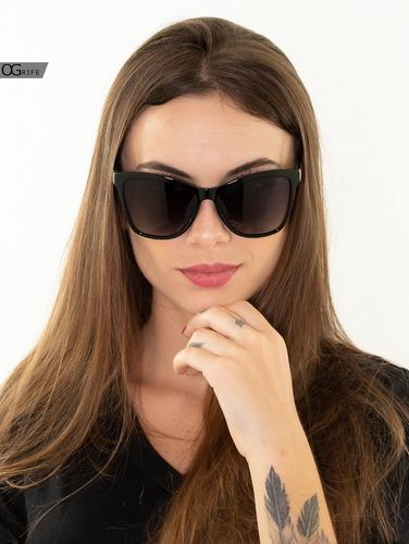oculos ogrife solar feminino og 1716-c polarizado grande