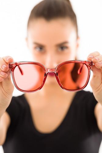 oculos ogrife solar feminino og 1859-c proteção uv original