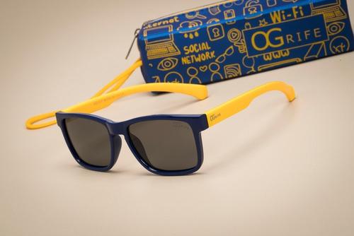 oculos ogrife solar infantil og 1645-i flexível não quebra