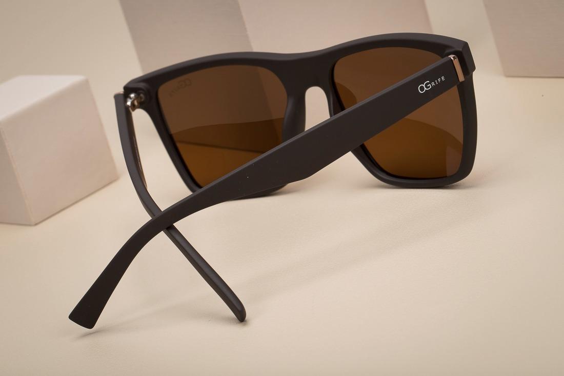 c9304f3ed Oculos Ogrife Solar Masculino Og 1221-c Polarizado Original - R$ 90 ...