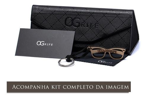 oculos ogrife solar masculino og 1385-c proteção uv original
