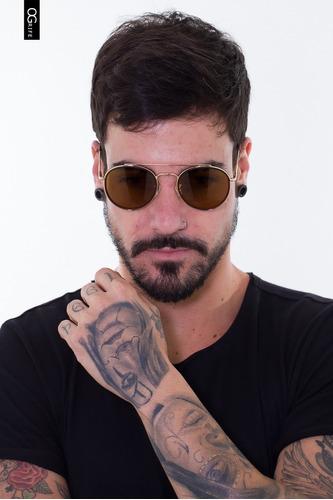 oculos ogrife solar masculino og 1569-c proteção uv original