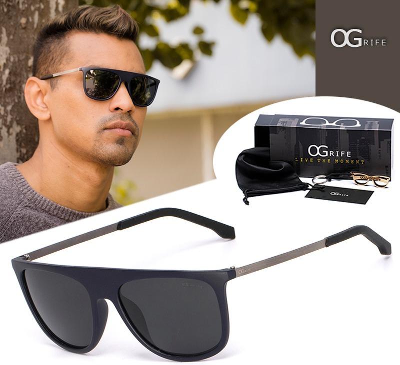 9db1f7881f432 óculos ogrife solar masculino og 668-p polarizado original. Carregando zoom.